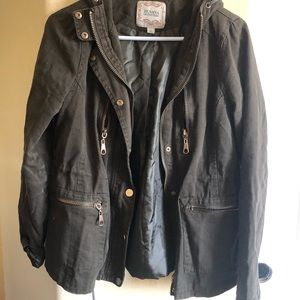 Zenana Outfitters L Hipster Jacket Lined NWOT